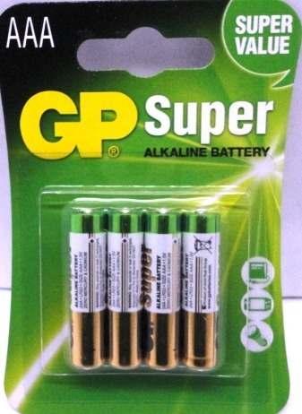 Remate De Pilas Bateria Alcalina Aaa Gp Super Oferta