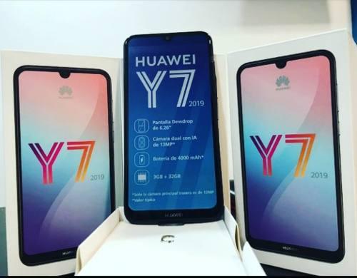Teléfono Huawei Y7 2019 32gb