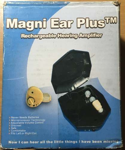Aparato Auditivo Magni Ear Plus!