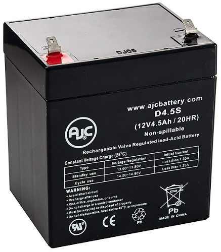 Batería 12 Voltios 4 Amperios Ups Lámpara Emergencia Cerco