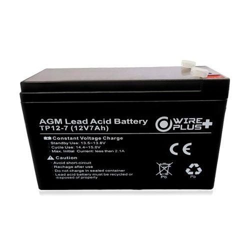 Bateria Pila 12v 7ah Ups Lampara Alarma Cercos Electricos