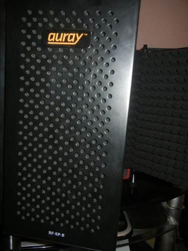 Cabina De Grabación Portátil - Auray Rf-5p-b