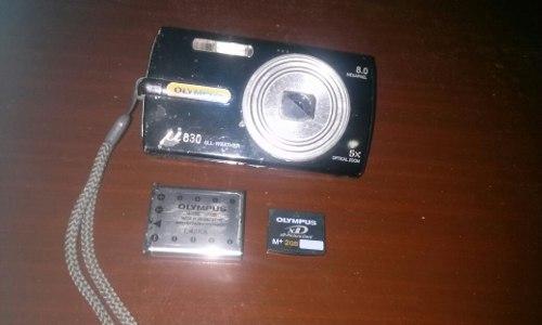 Cámara Digital Olympus U830 + Batería + Memoria 2gb