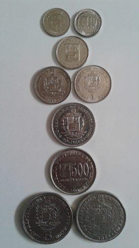 Colección (182) Monedas Antiguas Níquel Variadas.