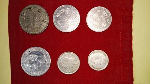 Coleccion De 6 Monedas Venezolanas.