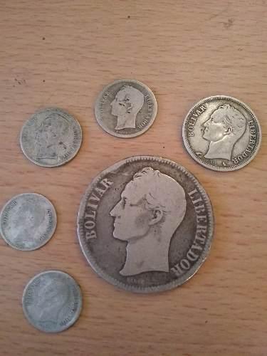 Coleccion De Monedas De Plata