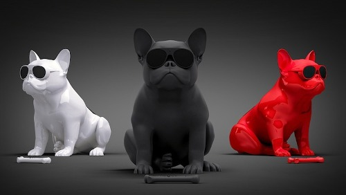 Corneta Portatil Bulldog Frenchie Mp3, Micro Sd Venta Mayor