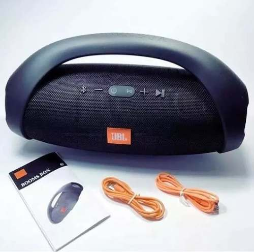 Corneta Portatil Jbl Boombox Bluetooth Aux Pendrive