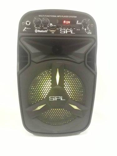 Corneta Spl Multifuncional Portatil Con Bluetooth
