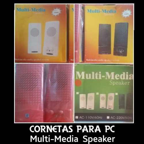 Cornetas Para Pc Muti-media Speaker