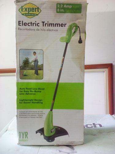 Desmalezadora Podadora Jardin Electrica Expert Gardener 120v