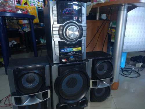 Equipo De Sonido Sony 120$