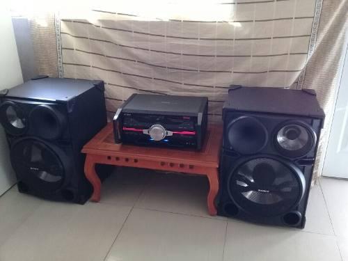 Equipo De Sonido Sony 22000w Usado En Perfecto Estado