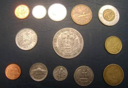 Lote De Monedas Con Fuerte De Plata Año  Bs