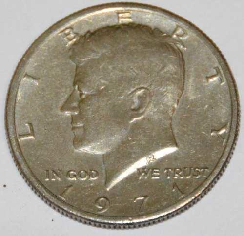 Moneda Antigua Americana De Coleccion Jfk  D