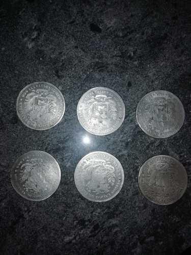 Moneda Antigua De Plata Ley 900
