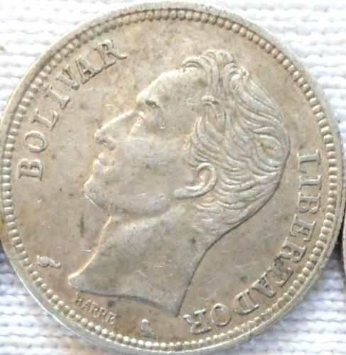 Moneda De 1 Bs De Plata De