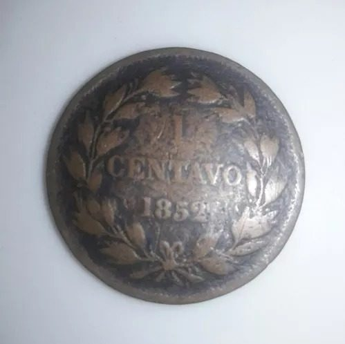 Moneda De Cobre 1 Centavo De