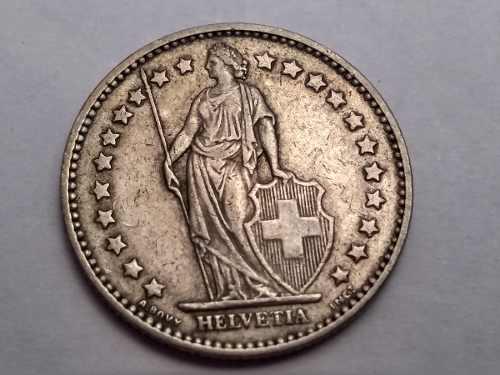 Moneda De Colección Antigua (suiza) 1 Franco