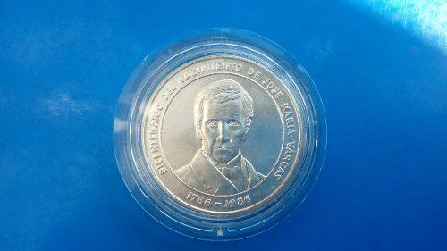 Moneda De Plata Colección Jose María Vargas 15$
