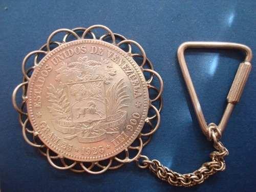 Moneda De Plata De 5 Bolivares Año