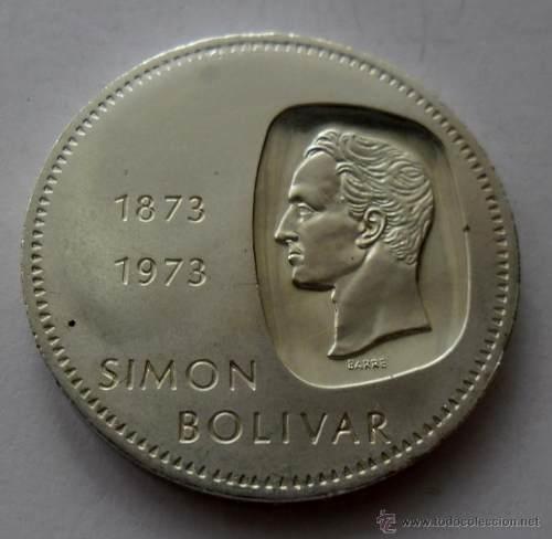 Moneda De Plata, Doblon Simon Bolivar Centenario
