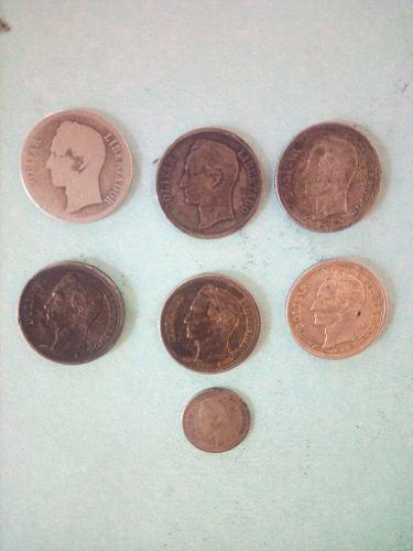 Monedas Antiguas De Plata De Año  Hasta .