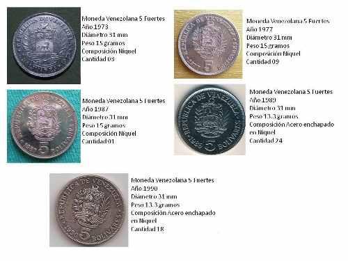 Monedas Antiguas Venezolanas