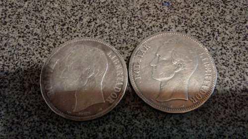 Monedas De Plata Para Coleccion