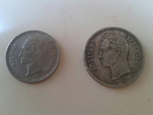 Monedas Medio Y Real De