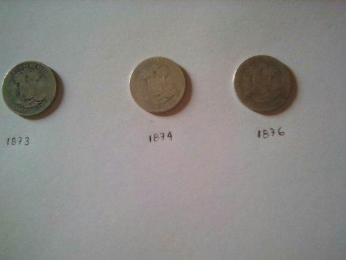 Monedas Venezolana De Coleccion  De Plata