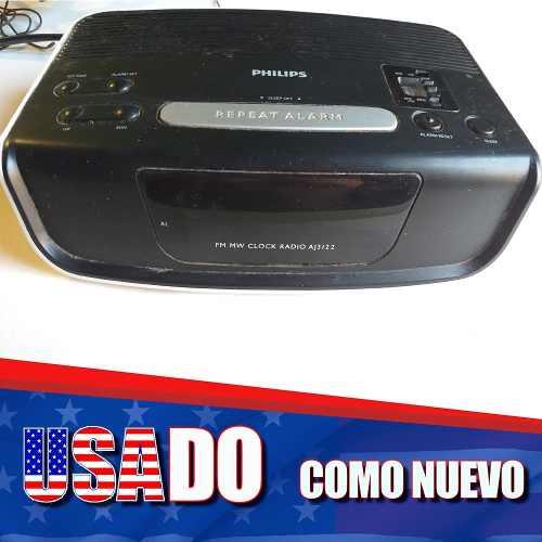 Radio Am/ Fm Reloj Despertador Philips