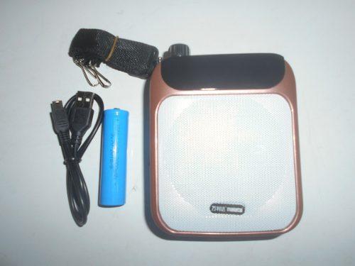 Radio Portátil Recargable Fm Usb Micro Sd Pen Drive Emisora