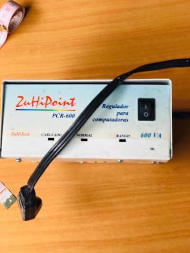 Regulador De Voltaje Para Computador, Zuhipoint, 600va