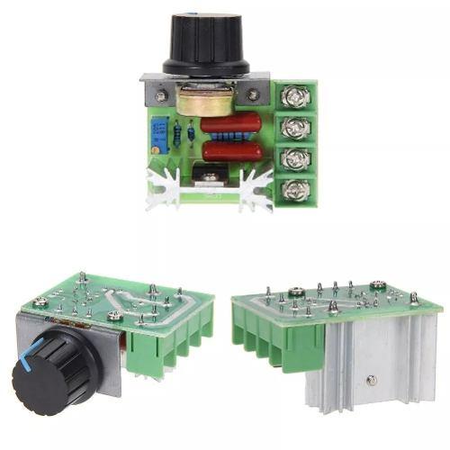 Regulador Voltaje, Velocidad, Termostato, Dimmer 220v w