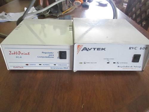Reguladores De Voltaje Avtek Y Zuhipoint Para Pc. 600 Va