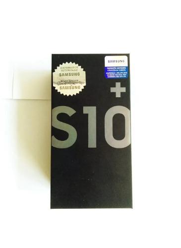 Samsung S10+ 128gb+128gb Nuevo Con Garantia Somos Tienda!