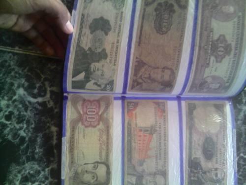 Set De 30 Billetes Y 40 Monedas Antiguas