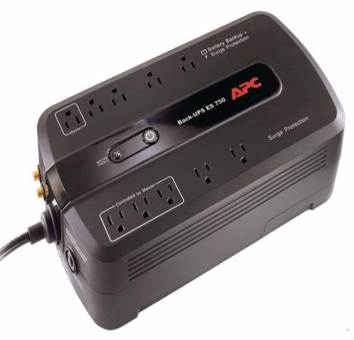 Ups Apc Be750g-lm 750va 10 Tomas Backup Regulador De Voltaje
