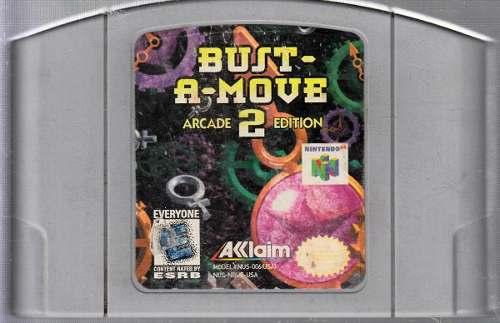 Bust-a-move Arcade 2 Edition Juego Original Usado A4