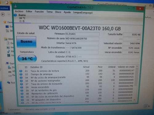 Disco Duro Para Laptop Sata 160gb Wenster Digital