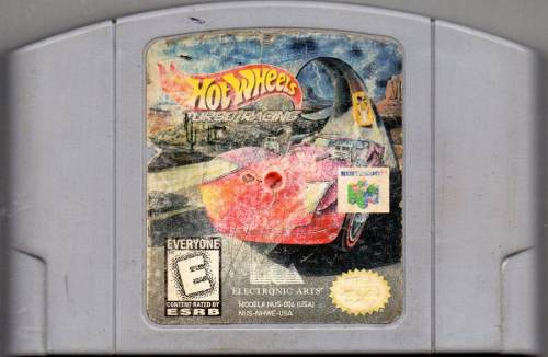 Hot Wheels. Turbo Racing Video Juego Original Usado A4