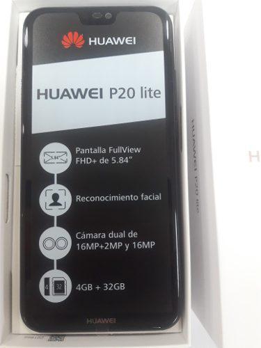 Huawei P20 Lite 252cash/nuevo Con Garantía
