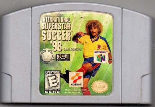 International Superstar Soccer '98 Video Juego Original Usad