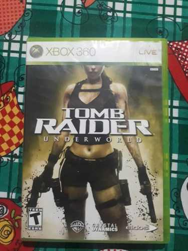 Juego Original Xbox 360 Tom Raider Underworkl