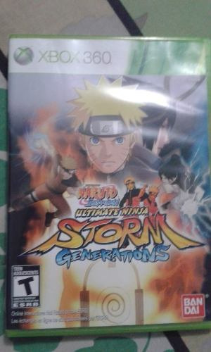 Naruto Ultimate Ninja Storm Generations Xbox 360 Juego