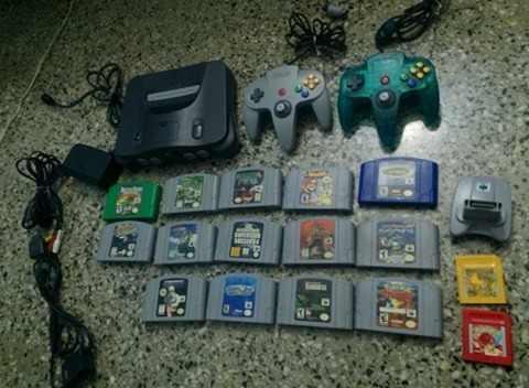 Nintendo 64 Con 14 Juegos
