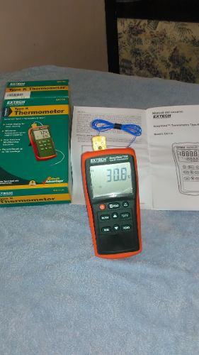 Registrador De Temperatura Portatil Extech Tipo K