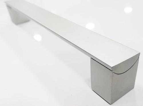 Tirador Manilla Cuadrado De Aluminio 19.2 Cm
