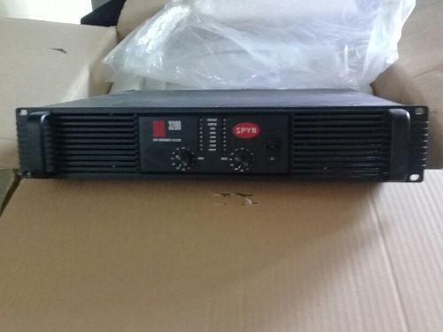 Amplificador Spyn Audio Da3200 / 600$ Qsc Crown Dbx Jbl Rcf